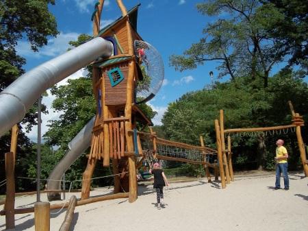 Photo of play area in Lier, Belgium