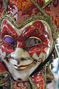 Take off your mask: ditch the painted grin Photo of masquerade mask from New Orleans