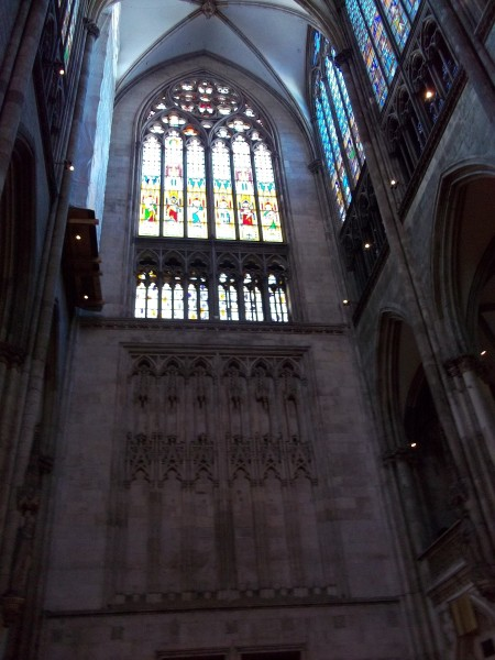 Kologne Cathedral and stained glass windows