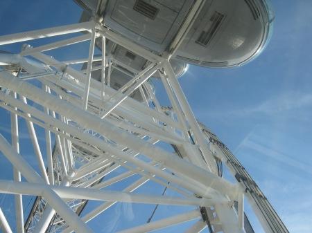 Photo of London Millenium Wheel capsule