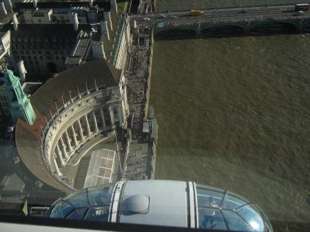 Opera House, view from the Millenium Wheel, London 2012 © Michelle Sherlock