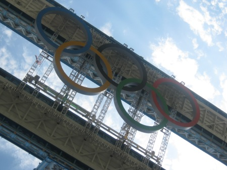 Relic: Olympic Rings, Tower Bridge, London 2012