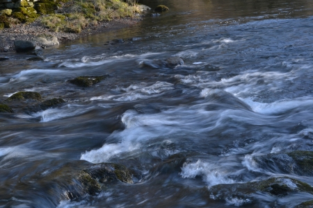 Photo of a rushing river