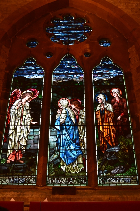Photo of stained glass at St Stephens Church, Tonbridge