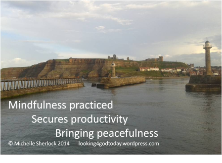 Mindfulness photo of Whitby harbour © Michelle Sherlock