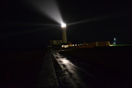 Lighthouse from a distance (Flamborough, UK)