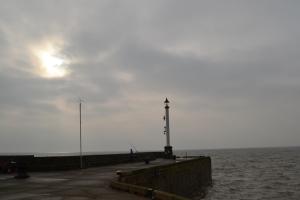 Light at Bridlington pier